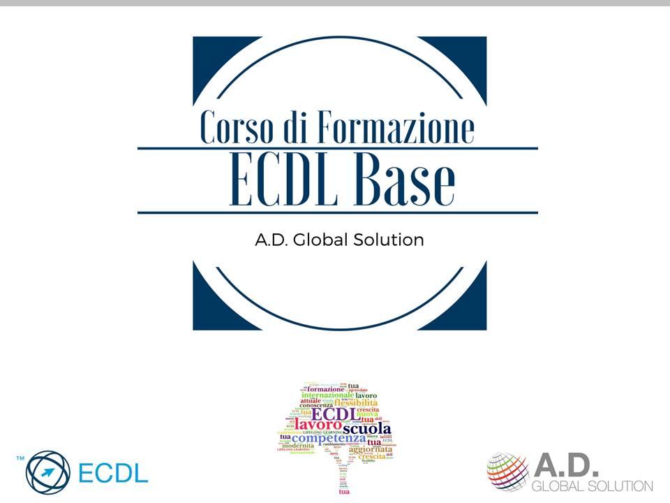 ecdl base corso a.d. global solution